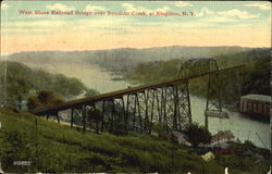 West Shore Railroad Bridge Over Rondout Creek