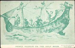 Henry Hudson On The Half Moon