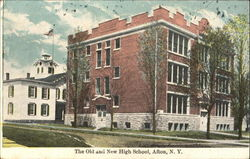 The Old And New High School