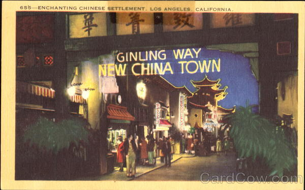 Ginling Way New China Town Los Angeles California