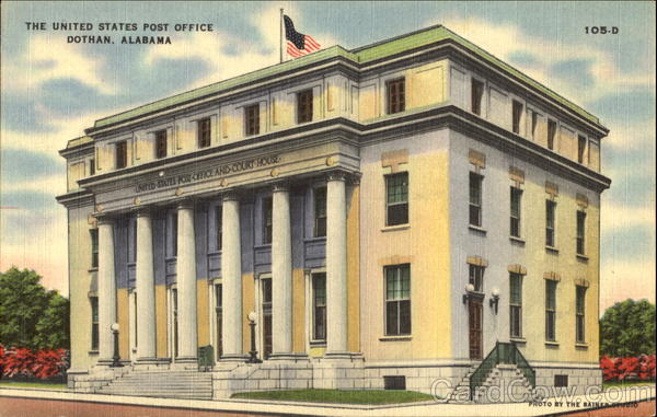 The United States Post Office Dothan Alabama