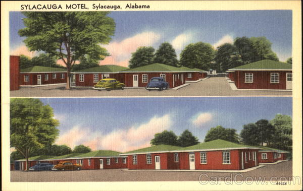 Sylacauga Motel, 65 Rooms - 65 Tiled Baths Alabama