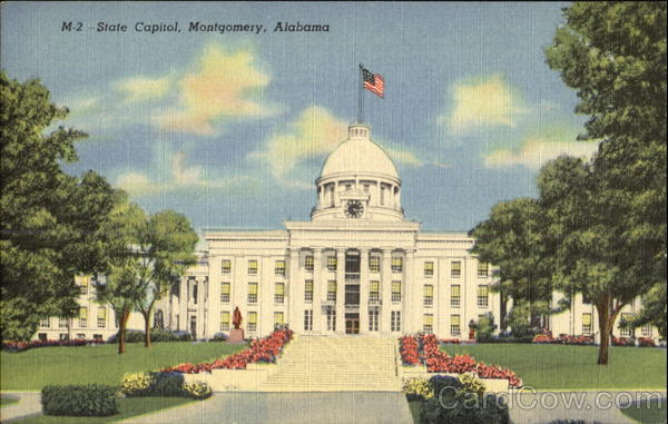State Capitol Building Montgomery Alabama