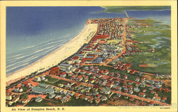 Air View Of Hampton Beach New Hampshire