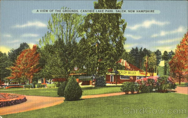 A View Of The Grounds, Canobie Lake Park Salem New Hampshire