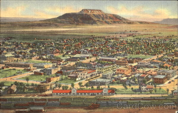 Air View Of Tucumcari New Mexico