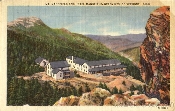 Mt mansfield and hotel mansfield green mts of vermont for T shirt printing mansfield tx