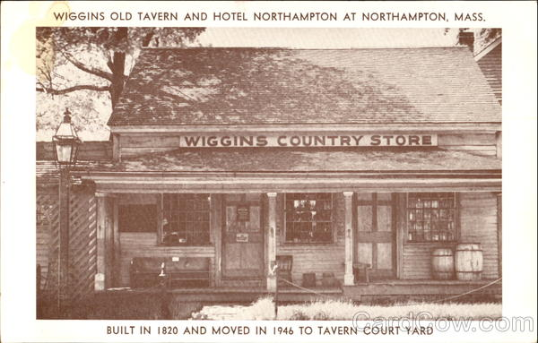 Wiggins Old Tavern And Hotel Northampton Massachusetts