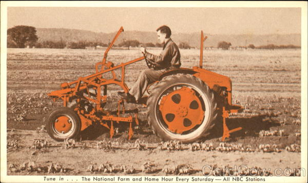 Allis-Chalmers Model G Tractor Advertising Farming