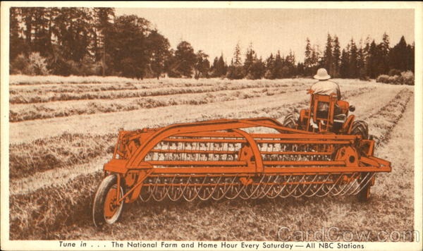 New Power-Driven Side-Delivery Rake And Tedder Advertising