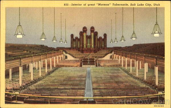 interior of great mormon tabernacle salt lake city ut. Black Bedroom Furniture Sets. Home Design Ideas