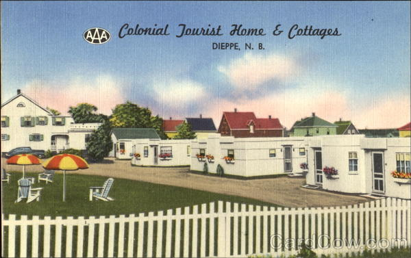 Colonial Tourist Home & Cottages Dieppe Canada New Brunswick
