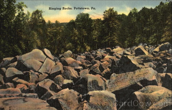 Ringing Rock Pottstown Pennsylvania