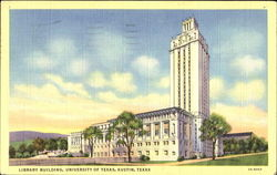 New University Library, University of Texas Postcard