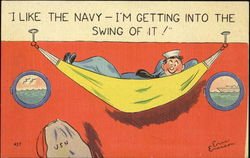 I Like The Navy - I'M Getting Into The Swing Of It!
