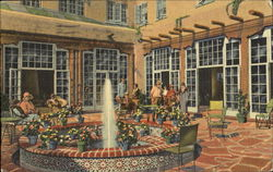 The Patio, La Fonda Hotel