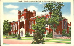 Library, University Of Oklahoma