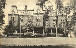 North Building Suffield Academy Postcard
