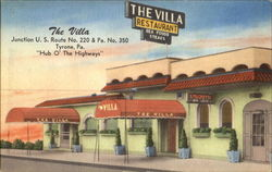 The Villa, Junction U. S. Route No. 220 & Pa. No. 350