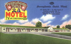Pennsylvania Dutch Motel, U. S. Route 222 - 1/4 Mile North