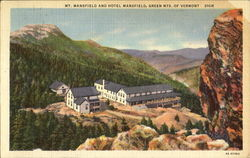 Mt. Mansfield And Hotel Mansfield, Green Mts. of Vermont
