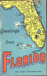 Greetings From Florida - The Sunshine State