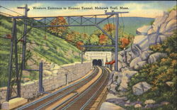 Western Entrance To Hoosac Tunnel, Mohawk Trail