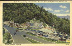 Newfound Gap And Rockefeller Memorial, Great Smoky Mountains National Park