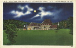 Night-Time Scene Of Asheville Country Club