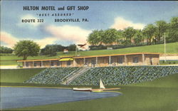 Hilton Motel And Gift Shop, Route 322 Postcard