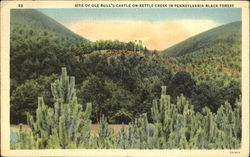Site Of Ole Bull's Castle On Kettle Creek In Pennsylvania Black Forest