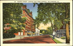 Fourth Street, Looking East From Campbell