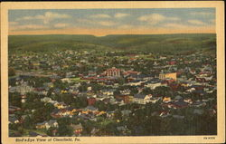Bird's-Eye View Of Clearfield