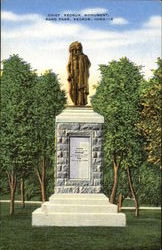 Chief Keokuk Monument, Rand Park