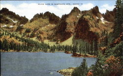 Alice Lake In Sawtooth Mts.