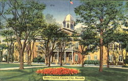State Capitol Building Postcard