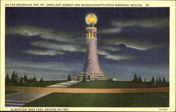 Massachusetts State Memorial Beacon