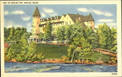 Bay Of Naples Inn Postcard