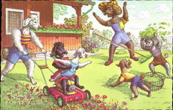 Mainzer Dogs - Mowing Lawn