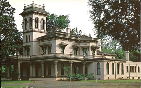 The Historic Bidwell Mansion Chico California