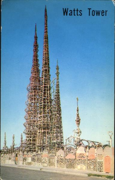 Watts Tower, 1765 East107 Street California