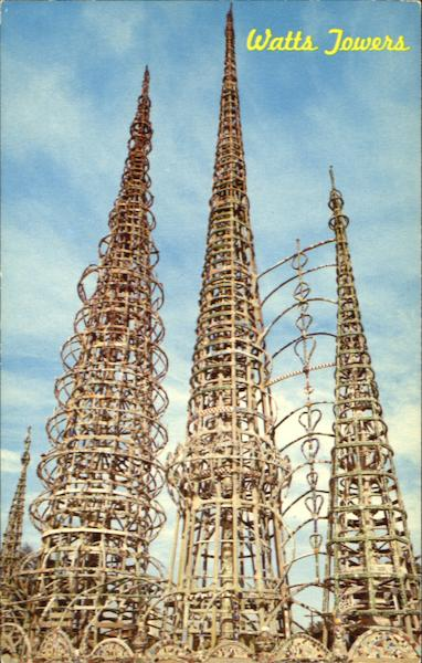 Watts Towers, 1765 East107 Street California