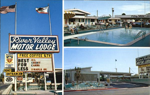 River Valley Motor Lodge, U. S. Hiways66 & 95 West Needles California
