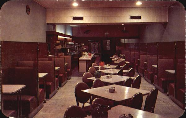 Interior Of John's Restaurant, 214 North 21st St. Birmingham Alabama