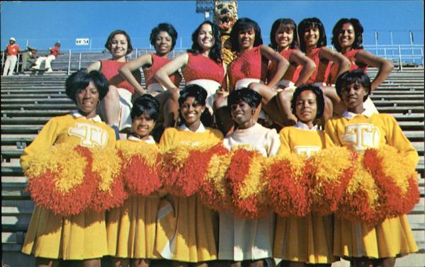 Tuskegee Institute Cheerleaders
