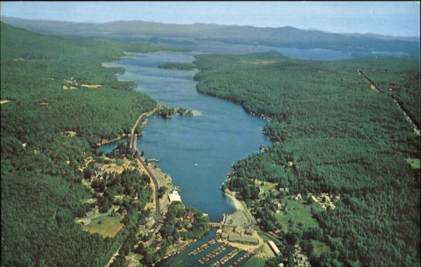 Air View Of Alton Bay Winnipesaukee New Hampshire