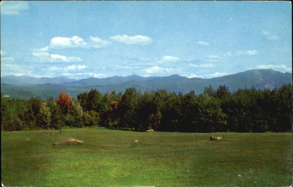 Picturesque View Of Sugar Hill New Hampshire