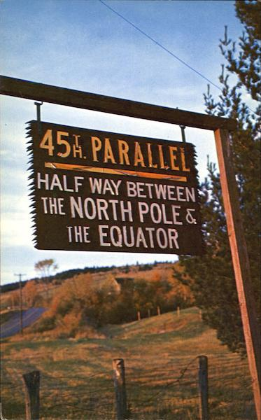 45Th Parallel Scenic New Hampshire