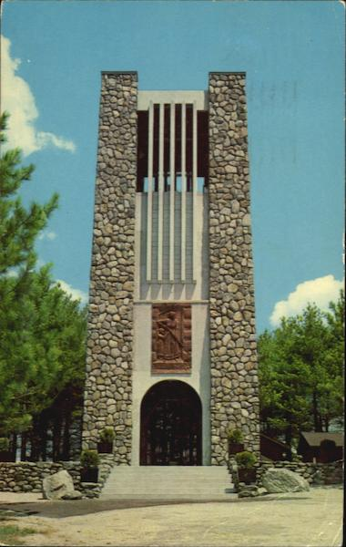 Cathedral Of The Pines Ridge Rindge New Hampshire