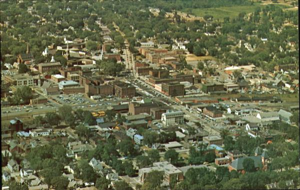 Aerial View Of Keene New Hampshire